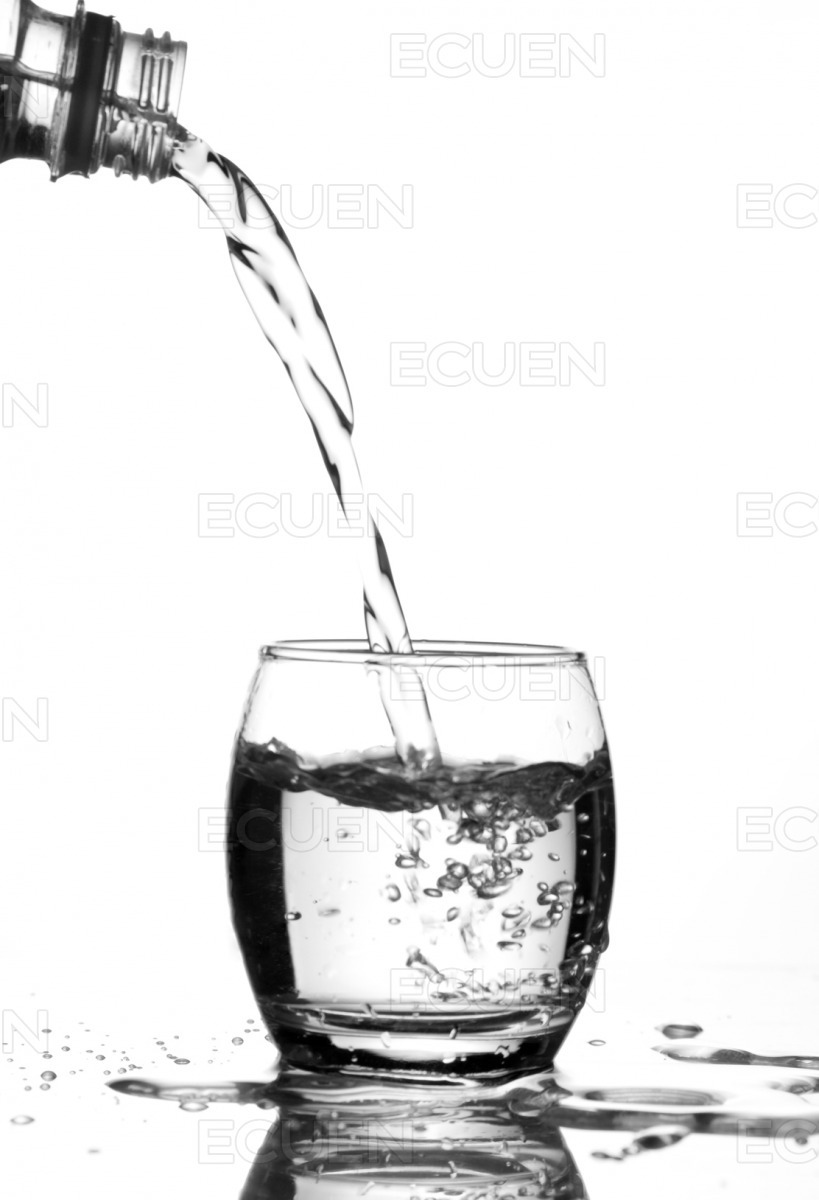 Suppling Water stock photo