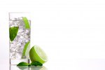 Mojito drink on isolated background
