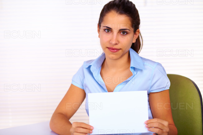 Business young woman stock photo