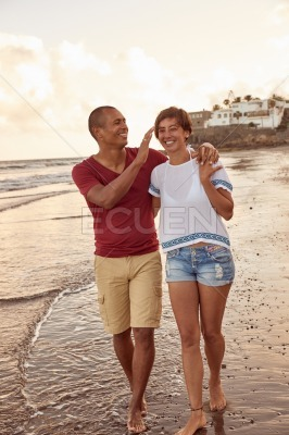 Intimate moments for a loving couple